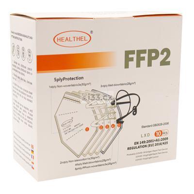 Khẩu trang y tế FFP2 màu đỏ 10ks #40358