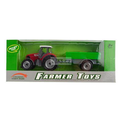 Wiky xe nông trại farmer toys 3+