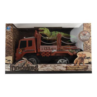 Fengda xe vận chuyển khủng long kèm phụ kiện 3+