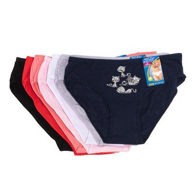 Fenghuang quần lót nữ trơn có họa tiết 4 con mèo