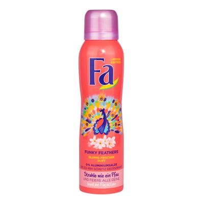 Fa xịt người limited edition funky feathers deodorant 150ml