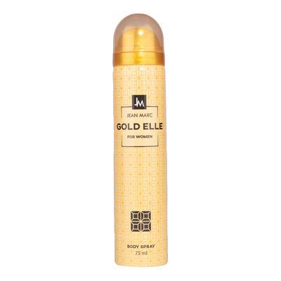 Jean marc xịt người Gold Elle for women body spray 75ml