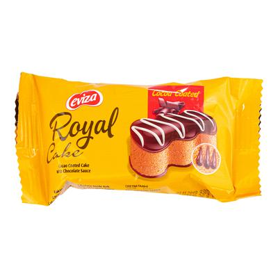 Bánh mềm EVIZA Royal cake cacao 36g