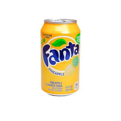 Fanta Pineapple phiên bản Mỹ 355ml