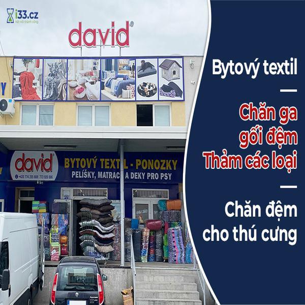 David - Bytový Textil, đồ chó mèo